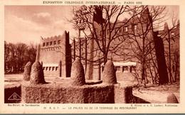 75 PARIS 1931 EXPOSITION COLONIALE INTERNATIONALE A.O.F. LE PALAIS VU DE LA TERRASSE DU RESTAURANT - Exposiciones