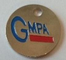 Jeton De Caddie - GMPA - Euro - En Métal - - Einkaufswagen-Chips (EKW)