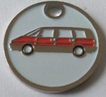 Jeton De Caddie - Automobiles - RENAULT  ESPACE Rouge - En Métal - Neuf - - Einkaufswagen-Chips (EKW)
