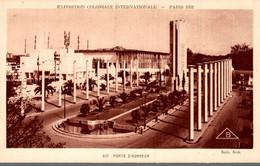75 PARIS 1931 EXPOSITION COLONIALE INTERNATIONALE PORTE D'HONNEUR - Exposiciones