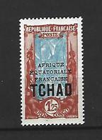 Timbre De Colonie Française Tchad Neuf * N 53 A - Ungebraucht