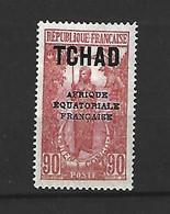Timbre De Colonie Française Tchad Neuf * N 53 - Ungebraucht