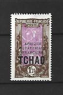 Timbre De Colonie Française Tchad Neuf * N 54 A - Ungebraucht