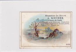 Chromo-réclame  A. Kocher, Magasin De L'Ancre, Confection.  La Chaux-de-Fonds - Other