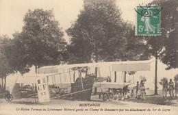 45 :  Montargis : Le Biplan Farman Du Lt Ménard Gardé Au Champ De Manoeuvre    ///  Ref.  Sept.  21 /// N° 17.051 - Montargis