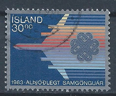 Islande YT 558 Oblitéré - Gebruikt