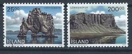 Islande YT 684-685 Oblitéré - Gebruikt