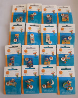 2004 Athens Paralympic Games, Full Set Of 16 Pins With Paralympic Mascot Proteas. EXTRA RARE Set!!! - Jeux Olympiques