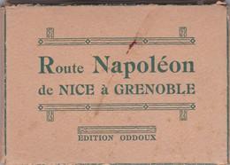 Route Napoléon De Nice à Grenoble .Pochette De 16 Photos / Edition Oddoux - Places