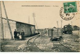ESTREES DENIECOURT - La Gare - Other Municipalities