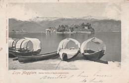 CPA  ITALIE Italia PIEMONT Lago Maggiore Lac Majeur Isola Bella E Isola Superiore  2 Scans - Sin Clasificación