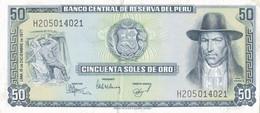 K29 - PÉROU - Billet De 100 SOLES DE ORO - Année 1977 - Peru