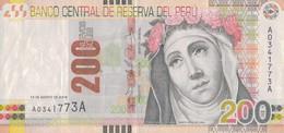 K29 - PÉROU - Billet De 200 NUEVOS SOLES - Année 2009 - Peru