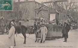 AIX En Provence 1912 - Carnaval XXIV - Aviation En Italie - Garros Sur Rome - Aix En Provence