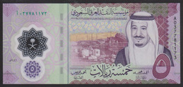 Saudi Arabia 5 Riyals 2020 Pnew UNC - Saudi Arabia