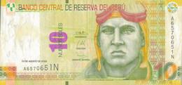 K29 - PÉROU - Billet De 10 NUEVOS SOLES - Année 2009 - Peru