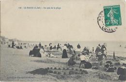 LA BAULE - Un Coin De La Plage - Animée - Château De Sable - 1910 - La Baule-Escoublac