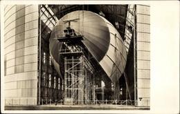 CPA Zeppelin LZ 129 In Bau, Luftschiff Hindenburg - Zonder Classificatie