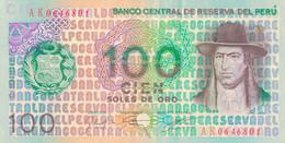 K29 - PÉROU - Billet De 100 SOLES DE ORO - Année 1976 - Peru