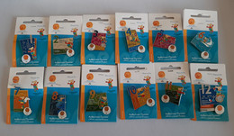 2004 Athens Paralympic Games, Days Of Games, Full Set Of 12 Pins With Paralympic Mascot Proteas. EXTRA RARE Set!!! - Jeux Olympiques