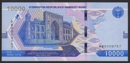 Uzbekistan 10000 Som 2021 Pnew UNC - Uzbekistán