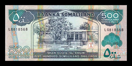 Somalilandia Somaliland 500 Shillings 2011 Pick 6h SC UNC - Other - Africa