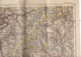 Belle Carte Environs De Sigmaringen N O, Bade-Wurtemberg, Allemagne, Karte Des Deutschen Reiches, 178, 1903 - Topographical Maps