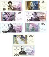 North Icees Territory - Myth And Legends Set 4 Banknotes 25 50 100 200 Rangt 2021 UNC Lemberg-Zp - Sonstige – Amerika