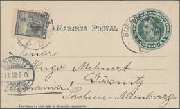Argentinien: 1878/1949, Sammlung Von 243 Ganzsachen, Anfangs Gebraucht, Mit Postkarten (170) Und Kar - Zonder Classificatie