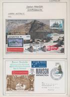 Australien - Antarktische Gebiete: 1953/2015, MAWSON - Reseach Station Starting With The Setup, Incl - Cartas