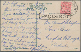 Australien - Besonderheiten: 1907/1941, MARITIME MAIL POSTMARKS, Interesting And Valuable Group Of 1 - Non Classés