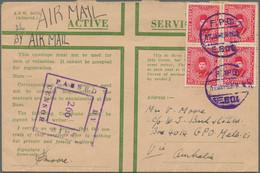 Australien - Besonderheiten: 1940/1942, AUSTRALIAN FORCES IN MIDDLE EAST, Group Of 15 Airmail Covers - Non Classés