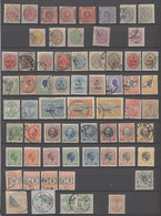 Dänisch-Westindien: 1856/1915, A Decent Used And Mint Collection Of 74 Stamps, Two Bisects And Two P - Dinamarca (Antillas)