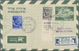 Israel - Ganzsachen: 1949/1980 (ca.), Holding Of More Than 1200 Unused/used Stationeries, Comprising - Non Classés