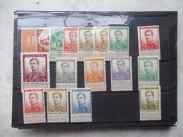 Belgie Belgique En Charniere Lion Debout Albert 1   108/125 / Plakken ( Pellens ) - 1912 Pellens