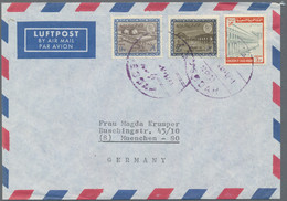 Saudi-Arabien: 1940's-1970's: About 560 Covers, Postcards, FDC's And Few Postal Stationery Items, Se - Saudi Arabia
