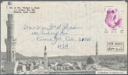 Saudi-Arabien: 1960's-1990's: More Than 640 Covers, Most Of Them Used As Airmail To Germany, With Re - Saudi Arabia
