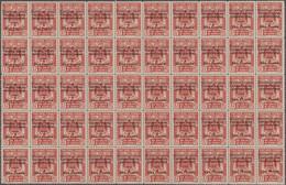 Spanische Besitzungen Im Golf Von Guinea: 1941, Overprints On Fiscal Stamps, Airmail 1pts. On 17pts. - Guinea Espagnole
