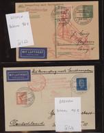 Katapult- / Schleuderflugpost: 1928/1937, Hochwertige Sammlung Mit Ca.90 Belegen Im Album, Dabei Bes - Airmail