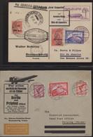 Zeppelinpost Deutschland: 1930/1939 (approx.), Collection Of Approx. 230 Zeppelin And Airmail Covers - Airmail