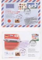 Zeppelinpost Deutschland: 2001/2013, Sammlung Von 110 Modernen Belegen Zum Thema Zeppelin, Die Meist - Airmail