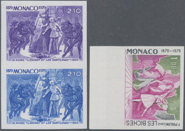Thematik: Musik / Music: 1960s/1970s, African Countries. Lot Of About 320 Colour Proof Stamps In Str - Music