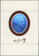 Thematik: Musik-Komponisten / Music-composers: 1991. Commemorative Folder Containing The Souvenir Sh - Music