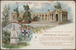 Thematik: Politik / Politics: 1897/1898, Kaiser Wilhelm I., 17 Privatpostkarten Zum 100. Geburtstag - Andere