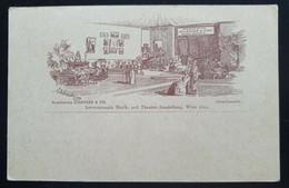 """Österreich 1892, Ganzsache """"Musik Und Theater-Ausstellung WIEN Ungebraucht - Covers & Documents"""