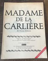Livre Madame De La Carlière De Denis Diderot Air France 1988 Théâtre - Cultura
