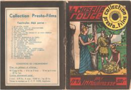 Collection Presto Films Nr: 91 La Moselle Rouge JM Moulinasse 1935 (Librairie De L'imprimerie D' Averbode ) - Adventure