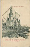 Paris    *  Paris Exposition Internationale 1900 - Le Pavillon De L'Allemagne - Exposiciones
