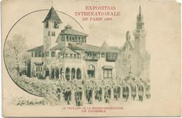 Paris    *  Paris Exposition Internationale 1900 - Le Pavillon De La Bosnie-Herzégovine , Vue D'ensemble - Exposiciones