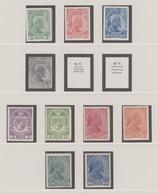 Liechtenstein: LIECHTENSTEIN 1912-2010, Meist Postfrische Sammlung In Dre Vordruckalben, Darunter Au - Verzamelingen